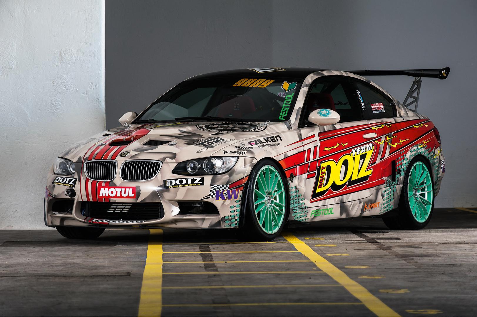 DOTZ BMW E92 DD1- the drift car from DOTZ Kings of sideways