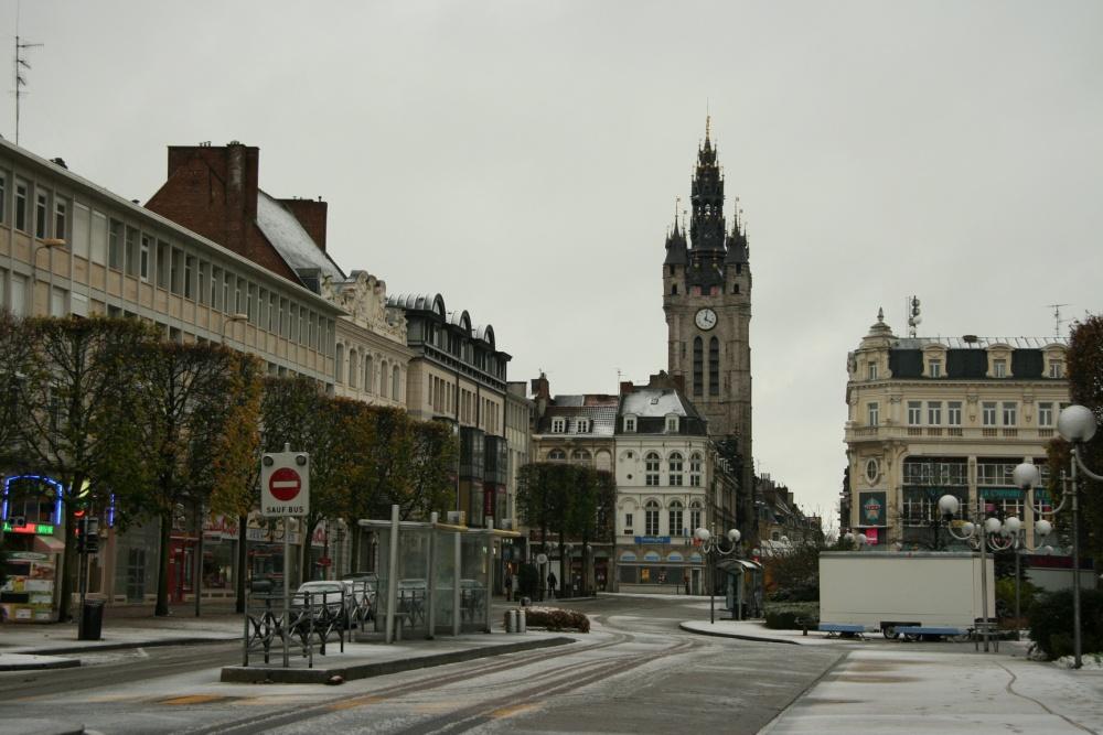 Douai, un jour d'hiver.
