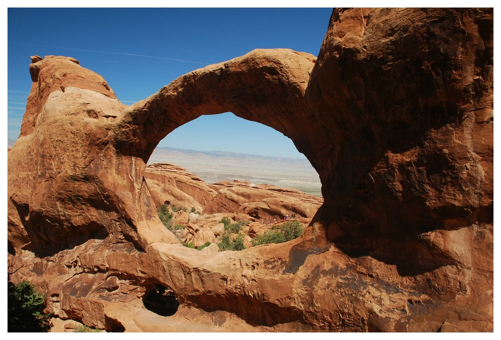 Double-O Arch (Arches NP/ Utah)