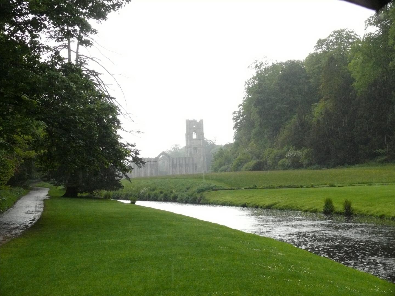 Douce promenade sous la pluie anglaise