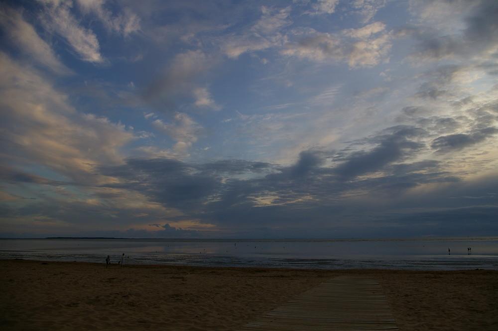 Douce soirée face à l'île d'Aix
