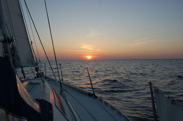 douceur du soir en mer