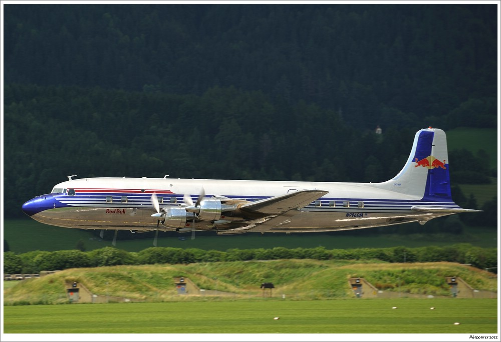 Douglas DC-6B / The Flying Bulls - Airpower 2011