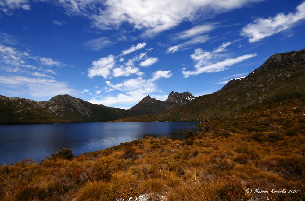 Dove Lake mit Cradle Mountain