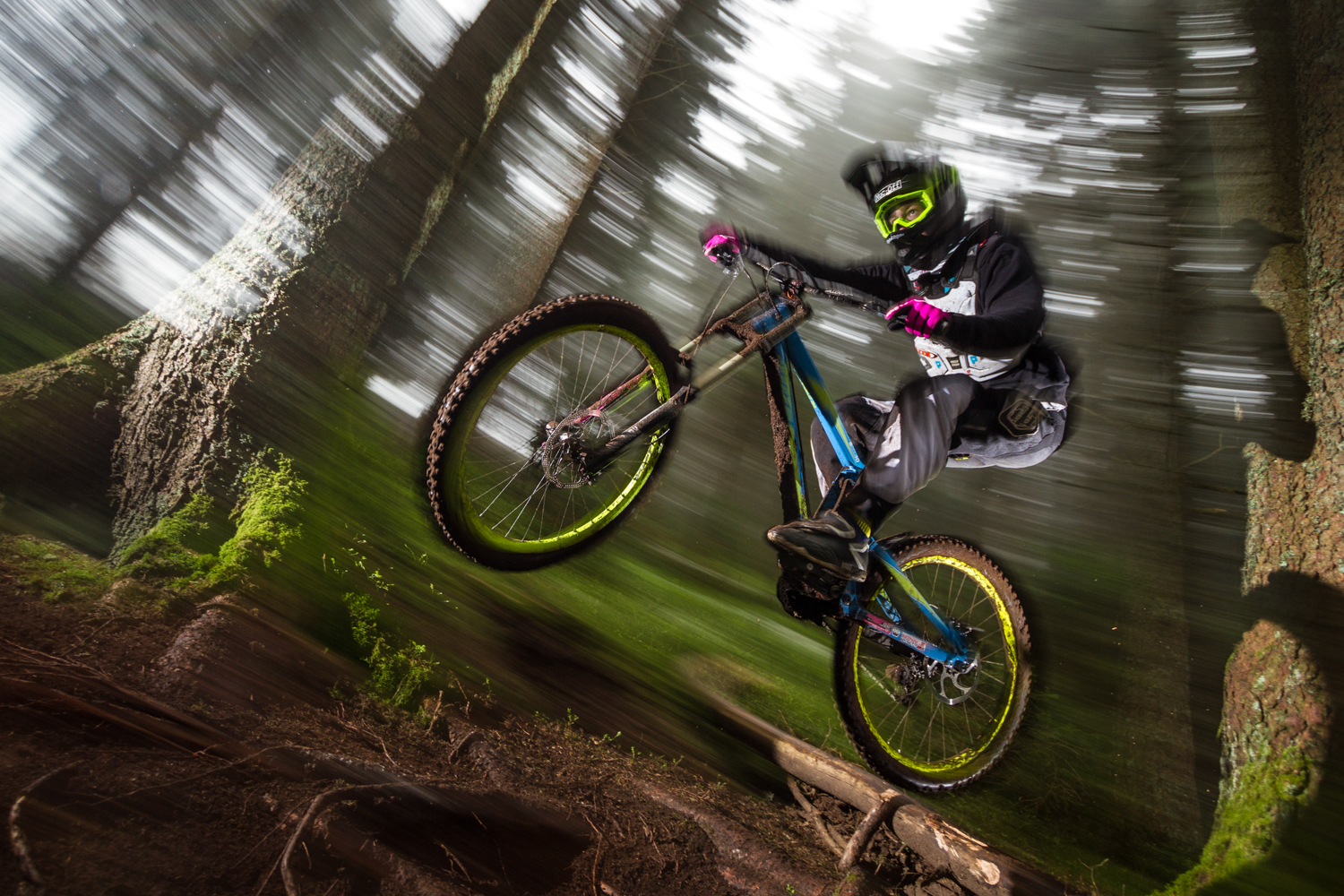 Downhill-Action