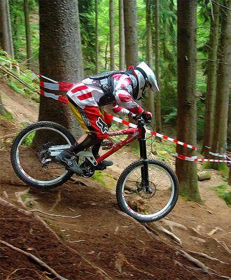 Downhill - Fahrer 398