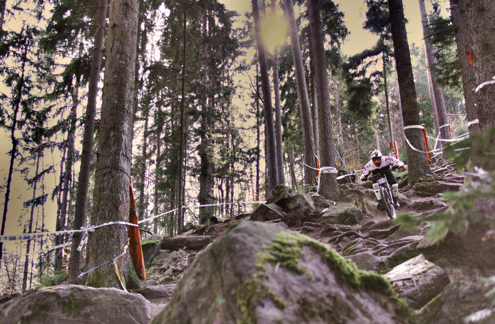 Downhill in Bad Wildbad