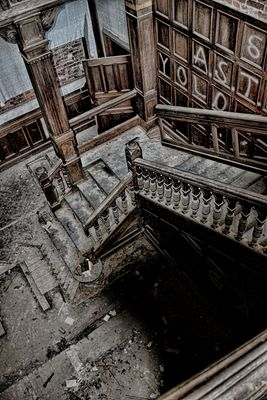 Downstairs.......