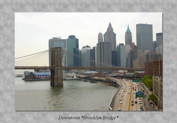 Downtown Brooklyn Bridge