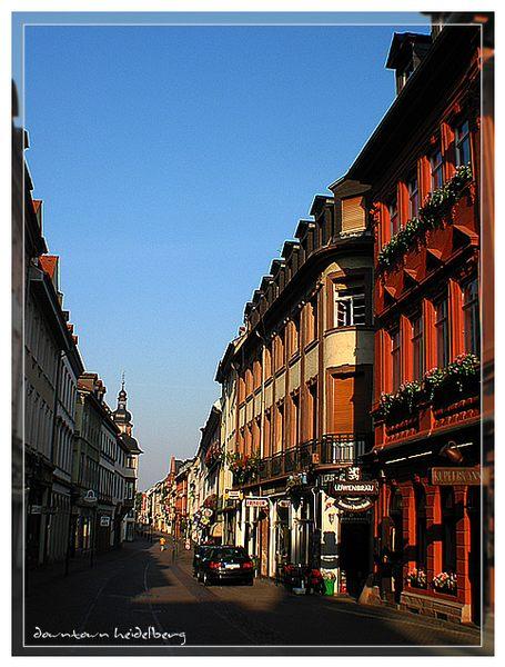 Downtown Heidelberg
