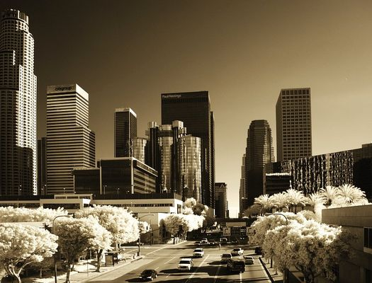 DOWNTOWN L.A. in IR