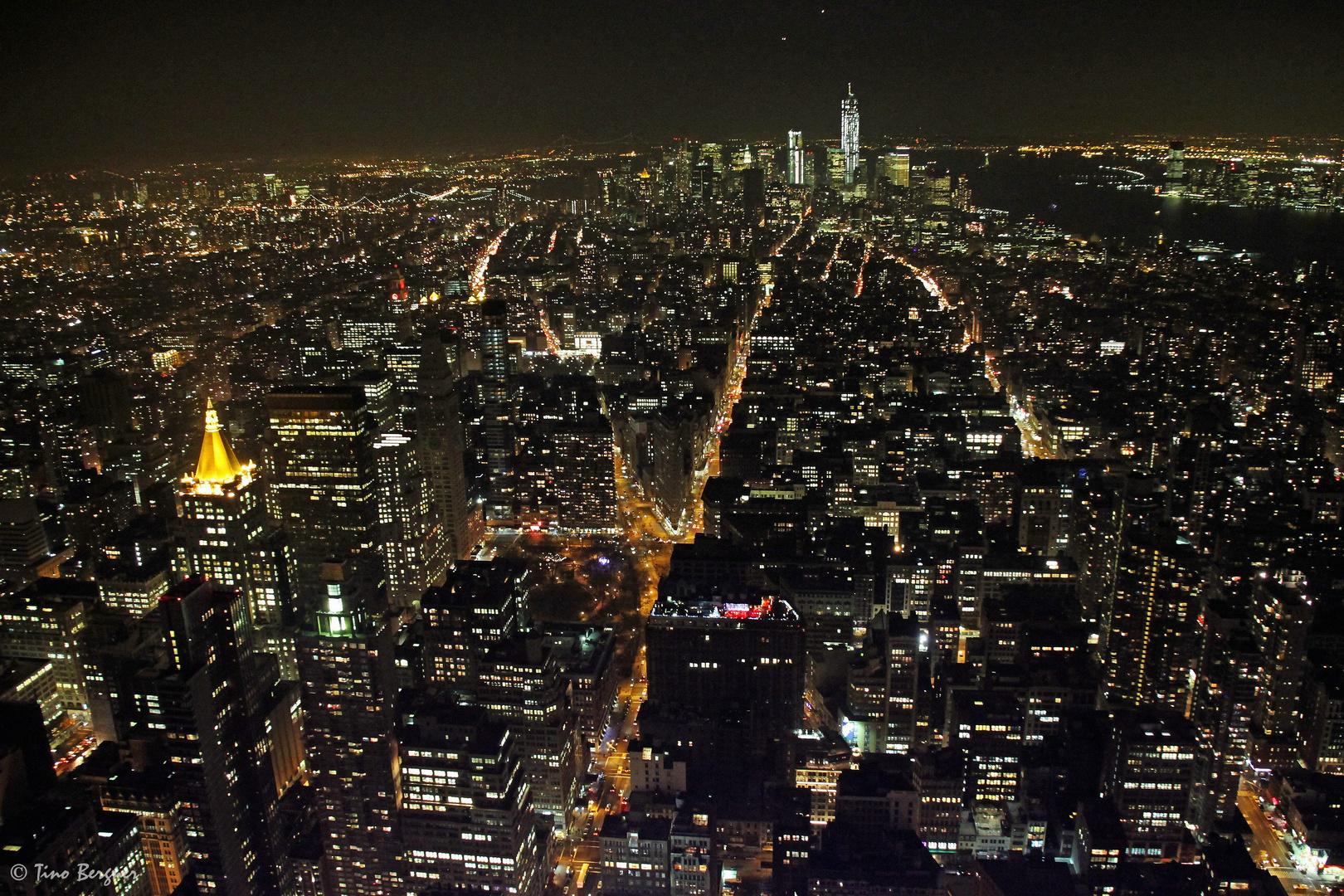 Downtown Manhattan @ Night vom ESB