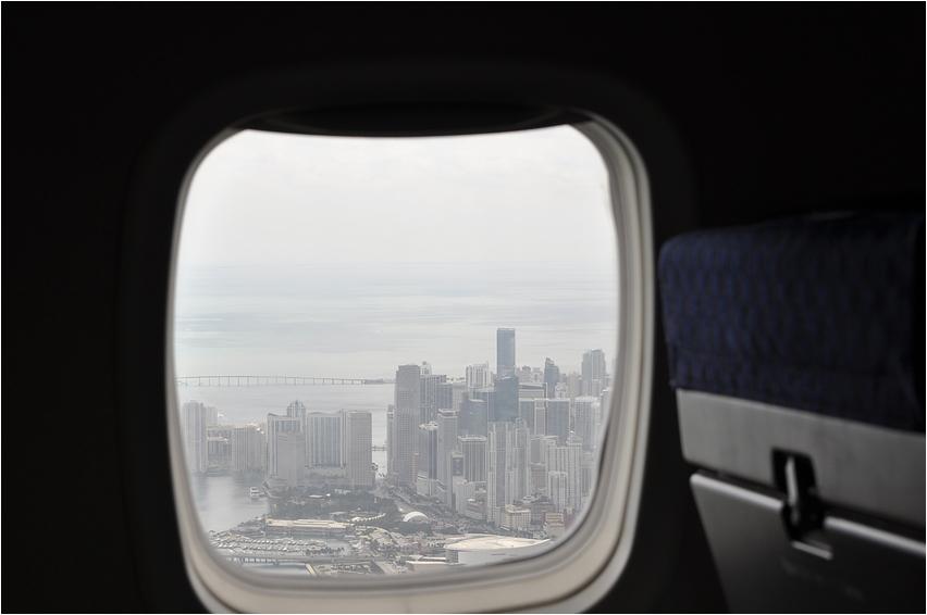 Downtown Miami & American Air