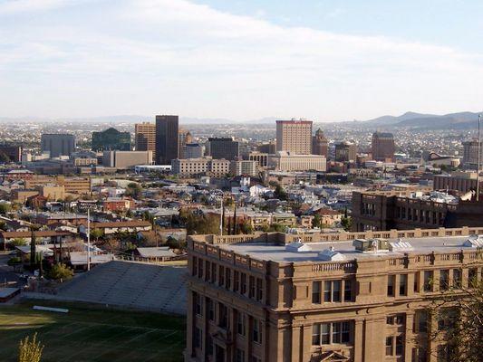 Downtown of El Paso, Texas