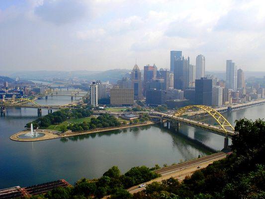 Downtown Pittsburgh PA
