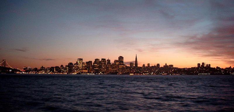 Downtown San Francisco...