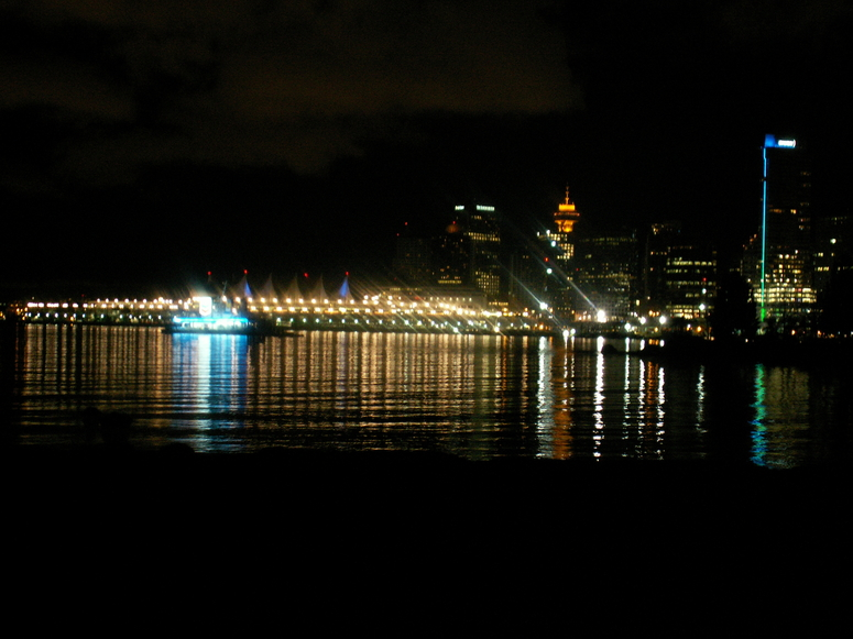 Downtown Vancouver @night