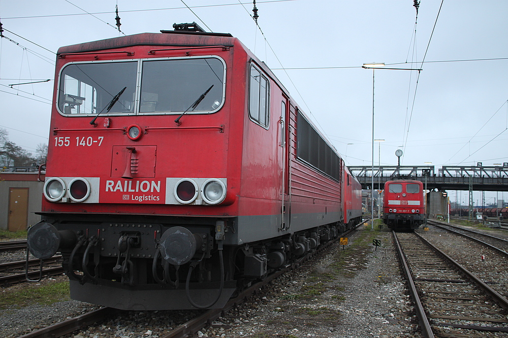 DR-Baureihe 250 seltener Gast im Bw Ulm