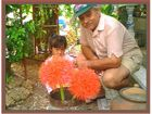 Dr. Charly mit Tochter in Thailand