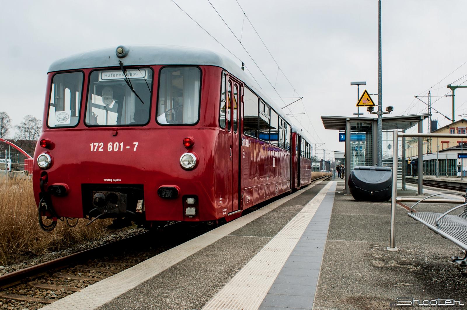 DR Ferkeltaxe - Triebwagen Typ LVT 171/172 (2)