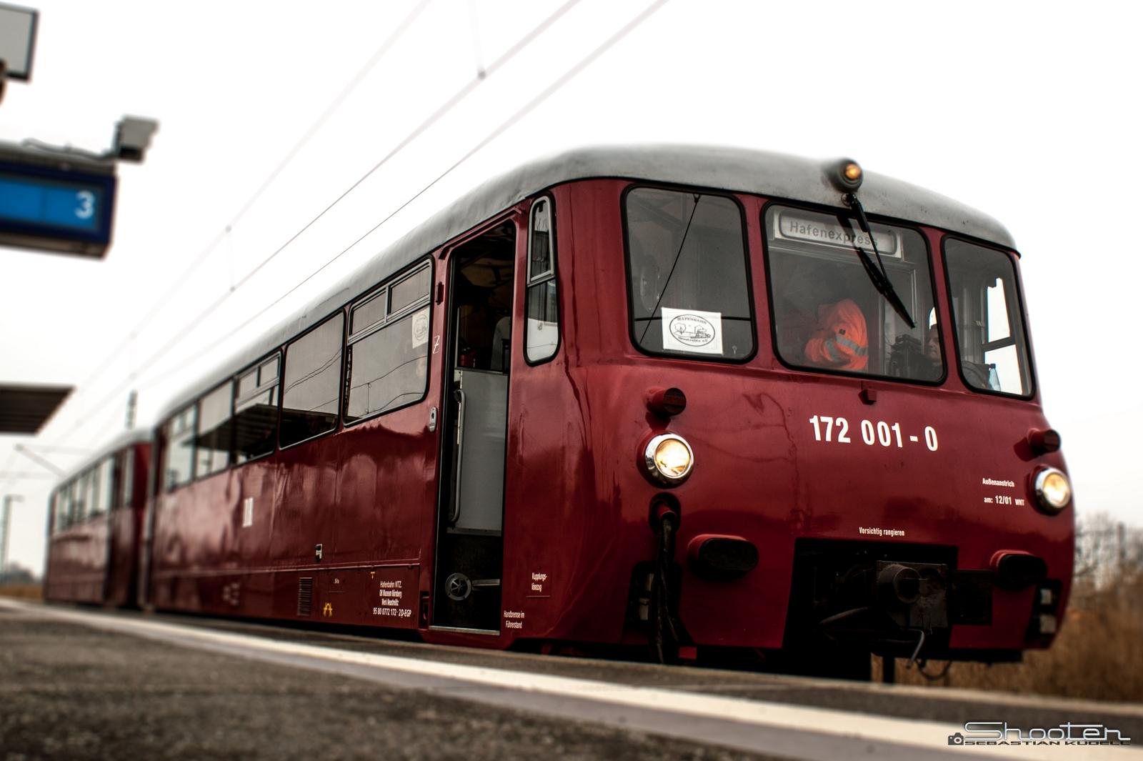 DR Ferkeltaxe - Triebwagen Typ LVT 171/172