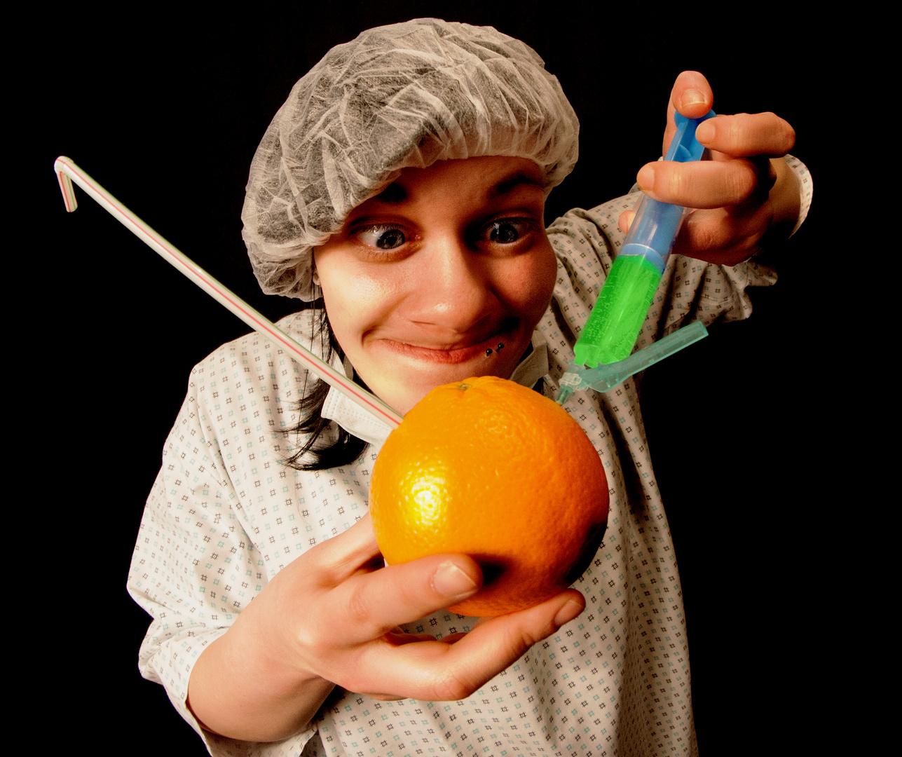 Dr. P. Sycho und das gespritzte Obst