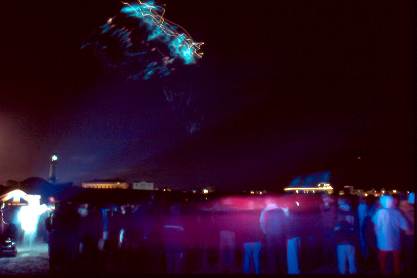 Drachen bei Nacht