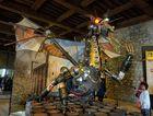Drachen im Museum von Tower
