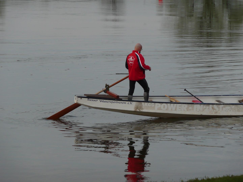 Drachenboot-Steuermann