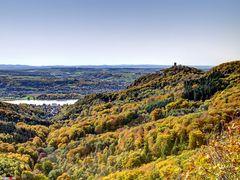 Drachenfels mit Rhöndorf