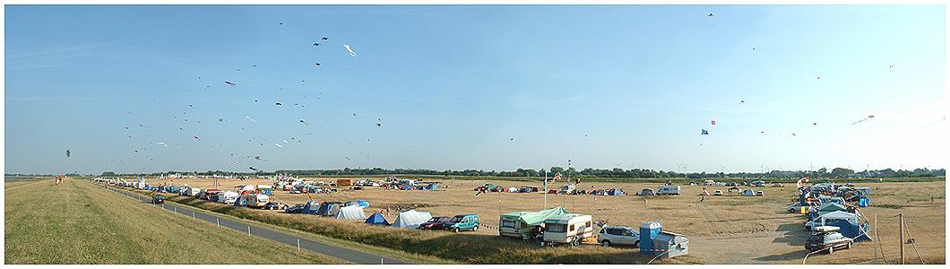 Drachenfest Cuxhaven-Altenbruch 8.8.-10.8.2003