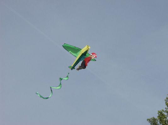 Drachenfliegerin