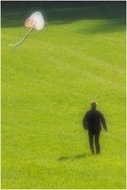 Drachensteigen