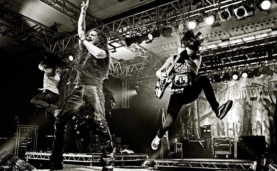 Dragonforce @ Black Crusade Tour 2007