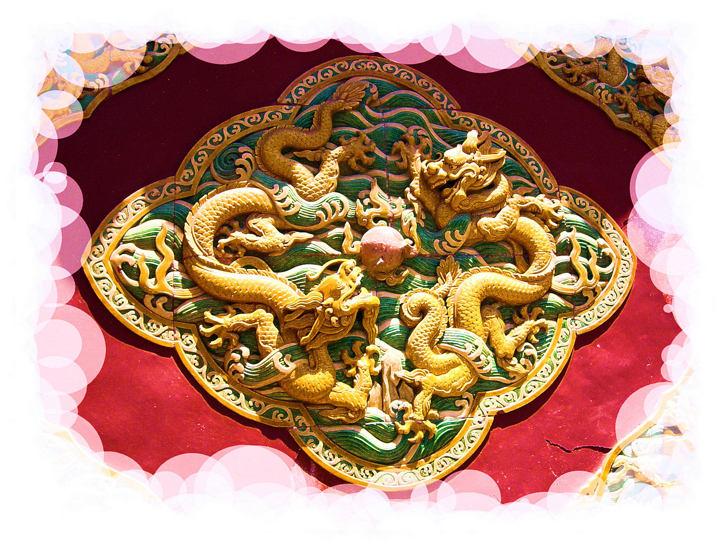 Dragons de Chine...