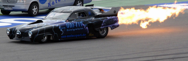 Dragster in Action