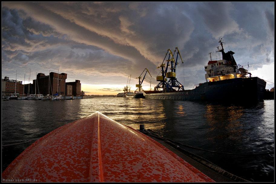 Drama am Seehafen