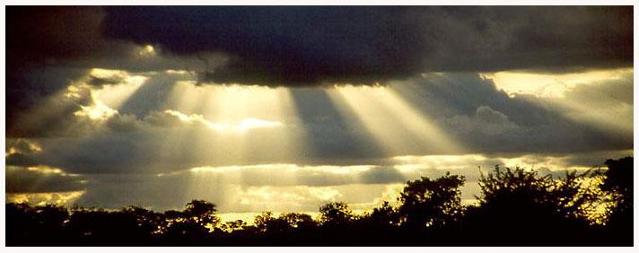 Dramatik am afrikanischen Himmel