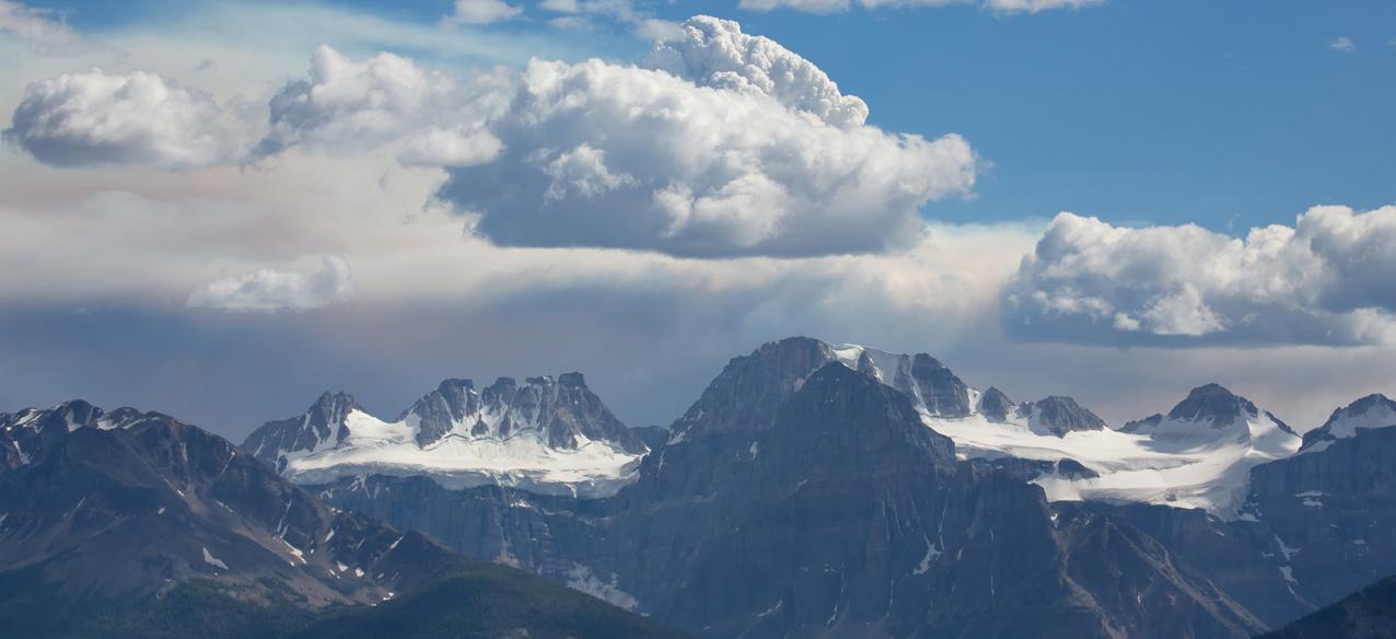 Dramatische Stimmung in den Rocky Mountains