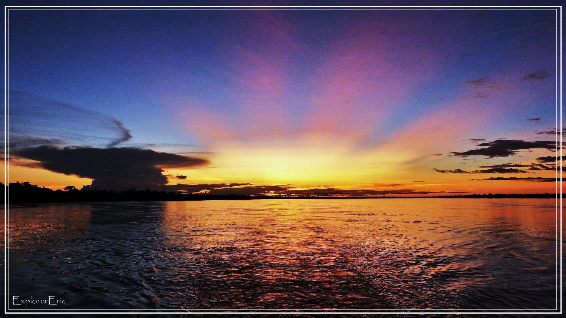 dramatischer Sonnenuntergang...........