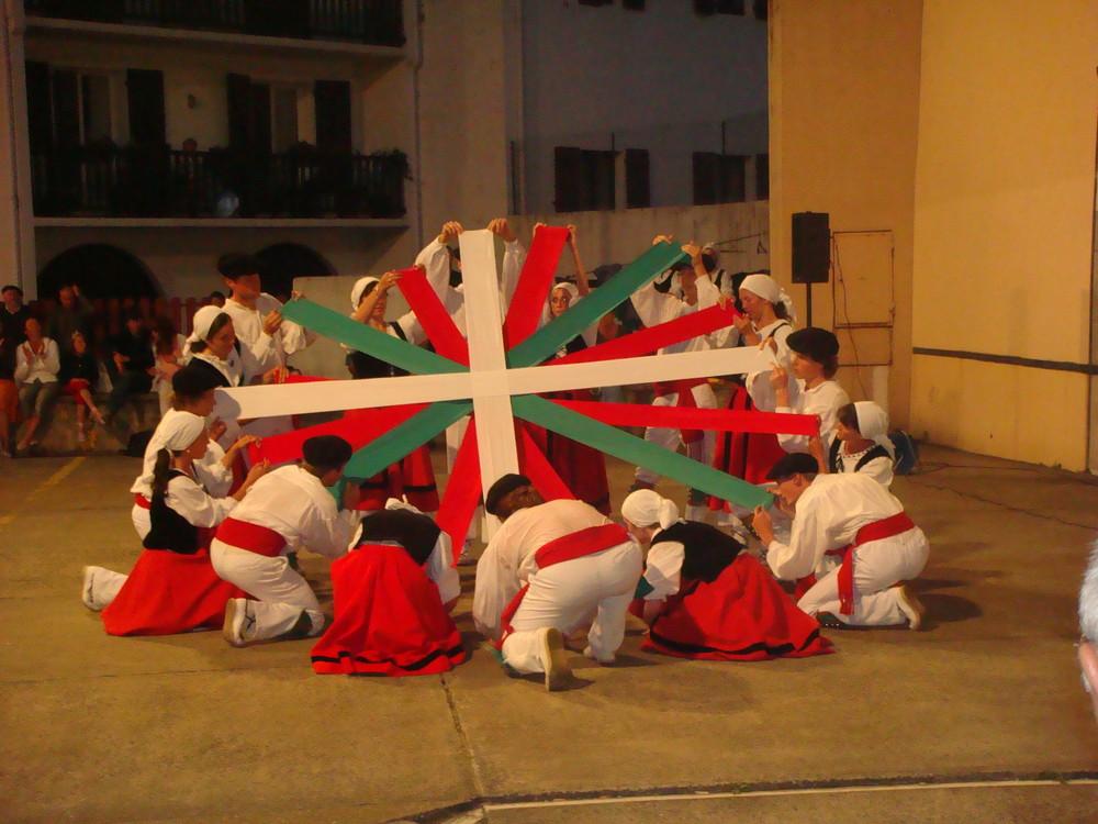 drapeau basque (fronton Ciboure)