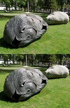 """Dreaming Stone"" - Installation von Peter Randall-Page"