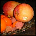 dreckiges Obst...