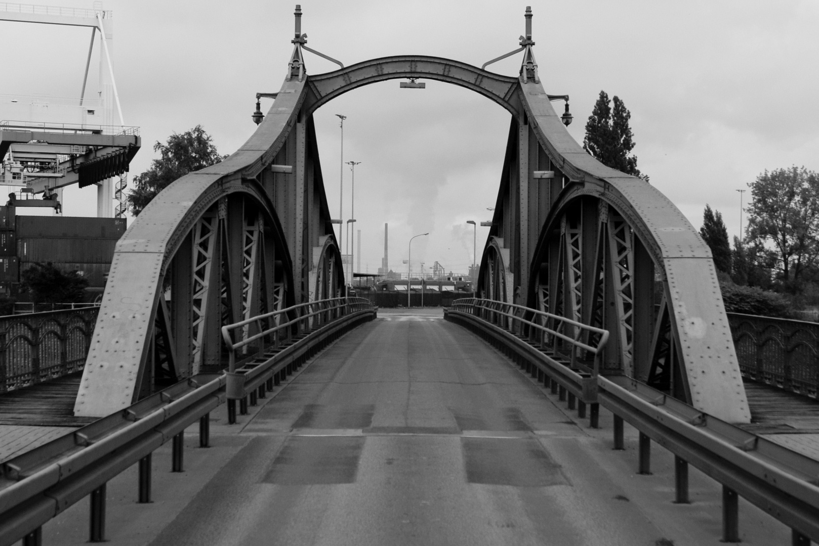 Drehbrücke in Uerdingen