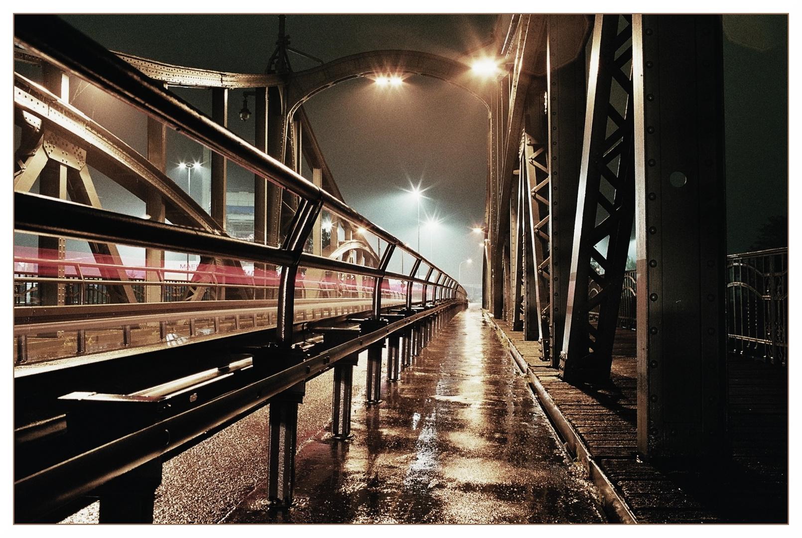 Drehbrücke Krefeld Linn III