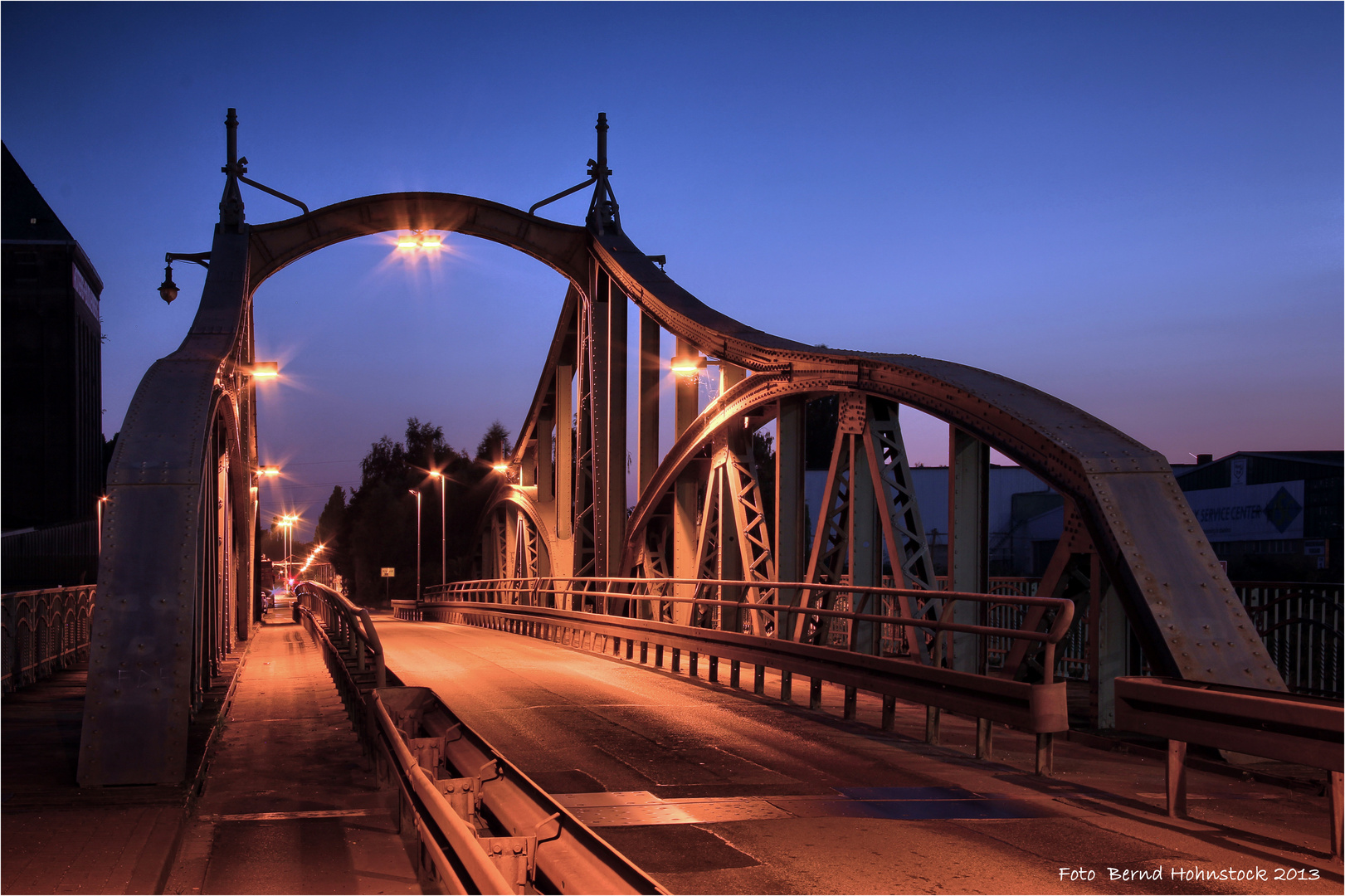 Drehbrücke Krefeld Uerdingen .... ende der Serie