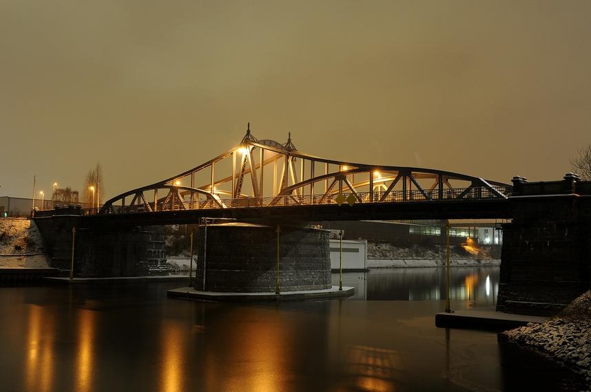 Drehbrücke Rheinhafen Krefeld