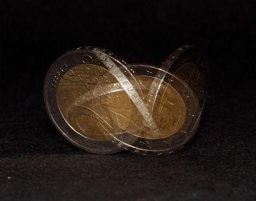 Drehende Münze