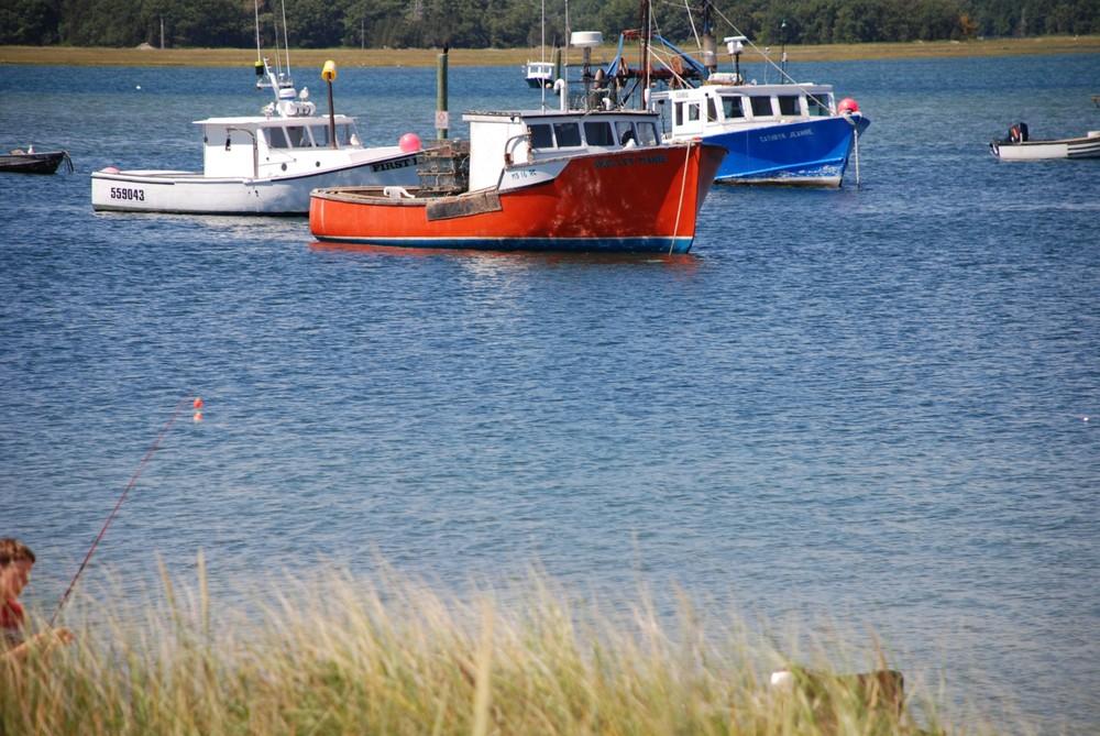 Drei Boote