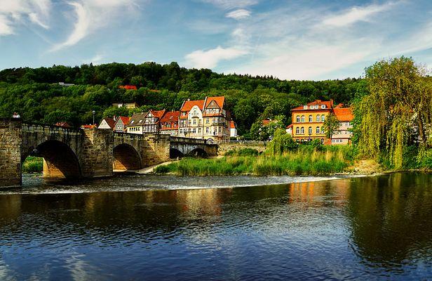 Drei-Flüsse-Stadt Hann.-Münden